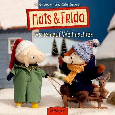 Mats & Frida warten auf Weihnachten  Deutsch