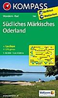 Südliches Märkisches Oderland: Wanderkarte mi ...