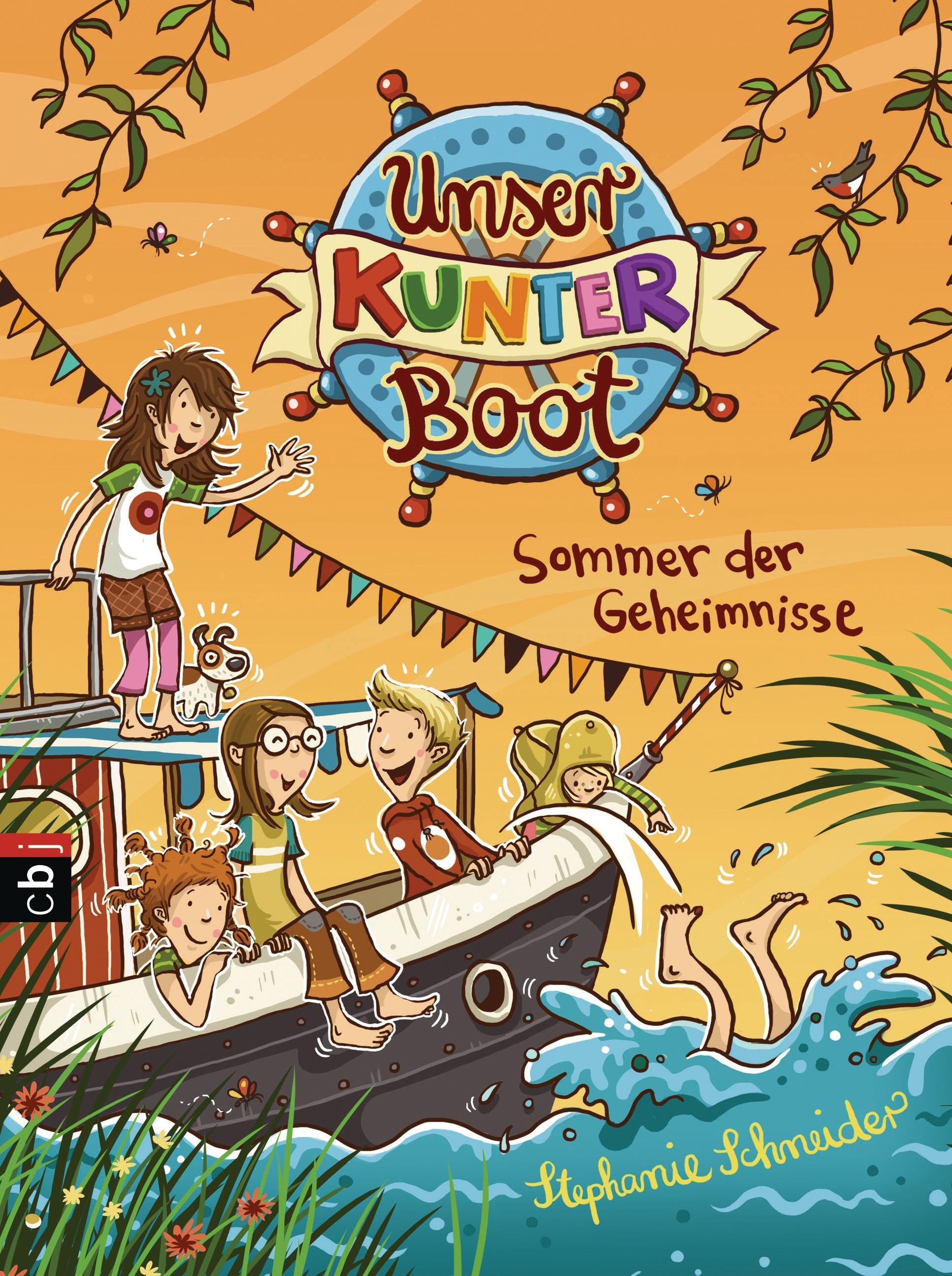 Unser-Kunterboot-Sommer-der-Geheimnisse-Stephanie-Schneider