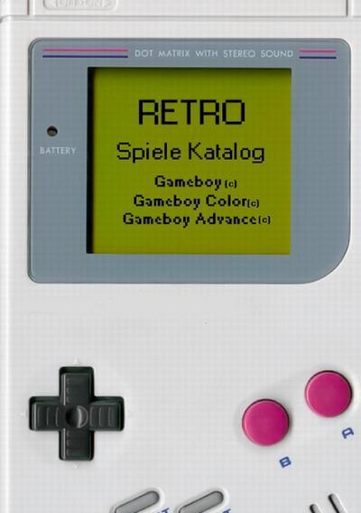 Retro - Spiele Katalog Gameboy