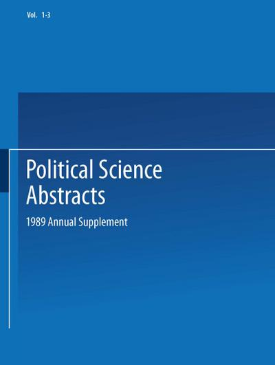 political-science-abstracts-1989-annual-supplement