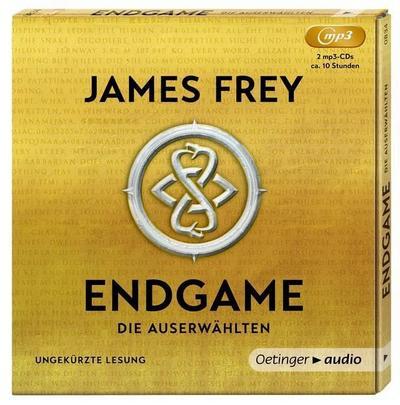 Endgame (2 MP3 CD): Die Auserwählten, Ungekürzte Lesung, ca. 800 Min.