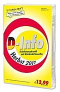 D-Info mit Rückwärtssuche Herbst 2017. Für Windows Vista/7/8/10