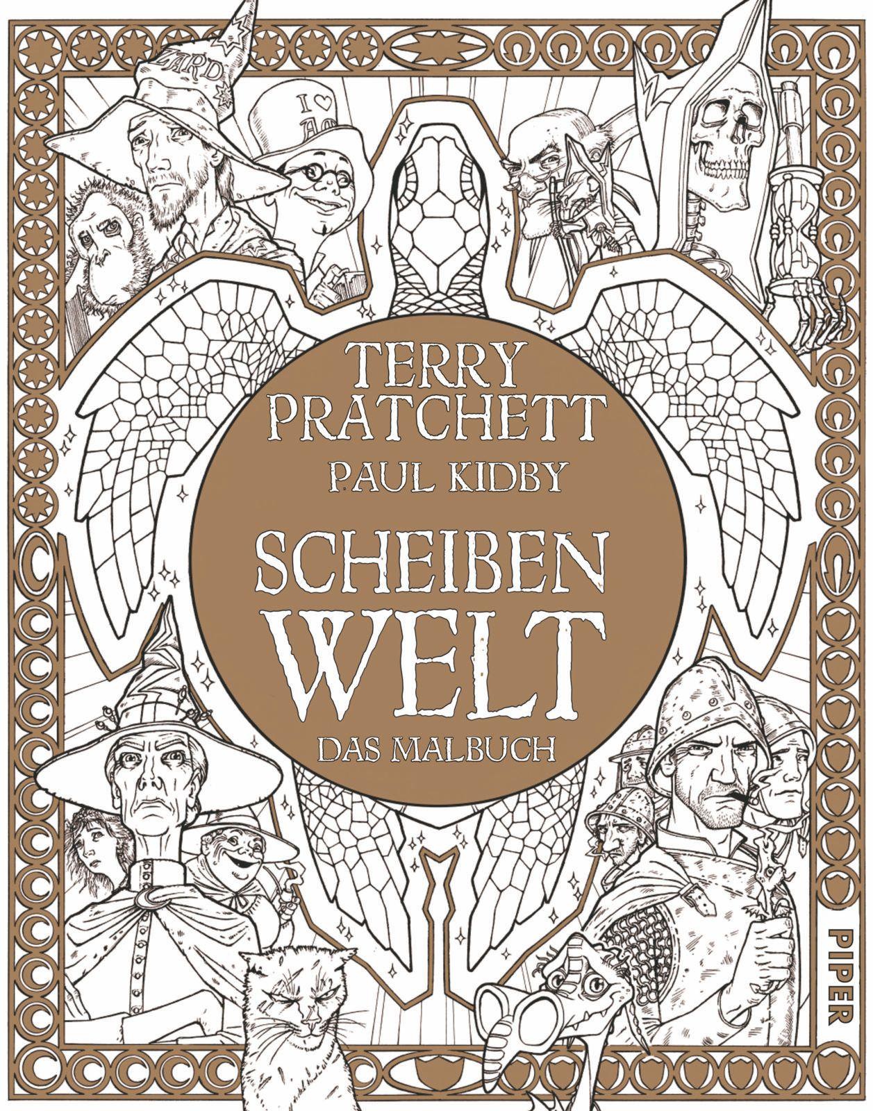 NEU Scheibenwelt - Das Malbuch Terry Pratchett 704366