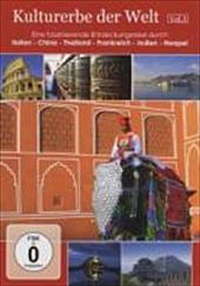Kulturerbe der Welt Vol. 3 - Travel Home Entertainment - DVD, Deutsch, , Eine faszinierende Entdeckungsreise durch Italien, China, Thailand, Frankreich, Indien, Neapel, Eine faszinierende Entdeckungsreise durch Italien, China, Thailand, Frankreich, Indien, Neapel