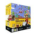 Nintendo Wii U Premium black Konsole + Super  ...