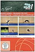 Bodenturnen - Übungen für Fortgeschrittene Langfilm und 3 Kurzfilme, 1 DVD