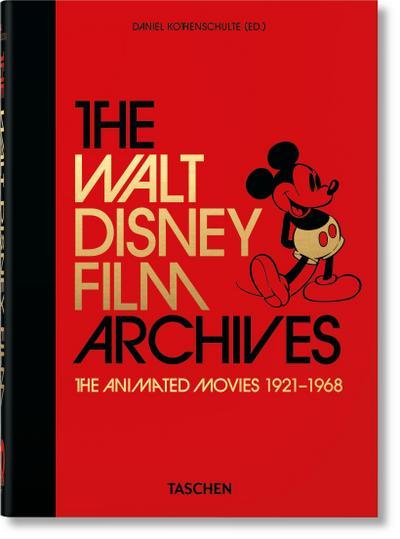 Das Walt Disney Filmarchiv. Die Animationsfilme 1921–1968. 40th Anniversary Edition
