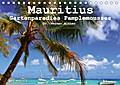 Mauritius - Gartenparadies Pamplemousses (Tischkalender 2018 DIN A5 quer)