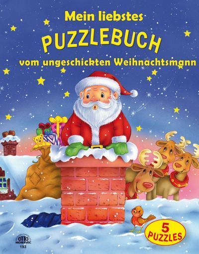 Mein liebstes Puzzlebuch-Weihnachtsmann