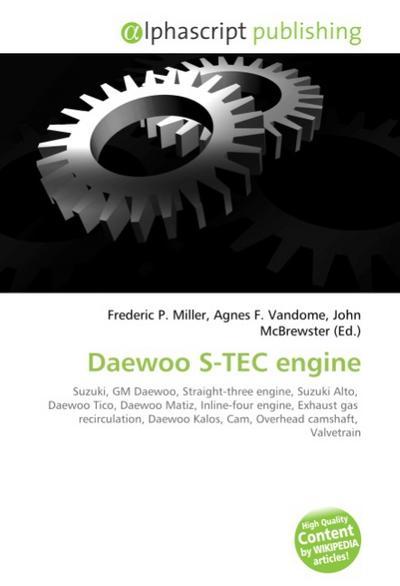 Daewoo S-TEC engine