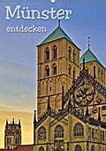 9783669063340 - Paul Michalzik: Münster entdecken (Wandkalender 2018 DIN A2 hoch) - Fotografien der Stadt des Westfälischen Friedens mit ihren schönsten historischen Gebäuden (Planer, 14 Seiten ) - كتاب