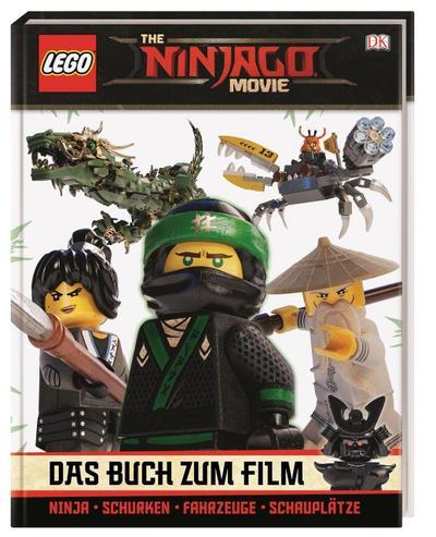 THE LEGO® NINJAGO® MOVIE Das Buch zum Film  Deutsch  Über 150 farbige Abbildungen