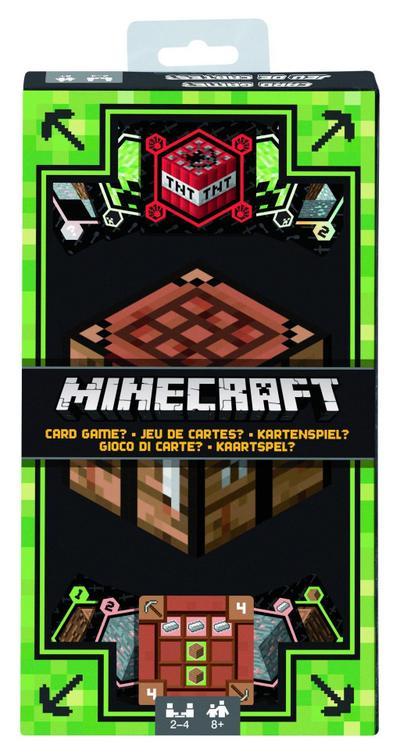 Mattel Games DNG61 Minecraft Kartenspiel, geeignet für 2 - 4 Spieler, Spieldauer ca. 15 - 20 Minuten, ab 8 Jahren - Mattel Gmbh - Spielzeug, Deutsch, , ,
