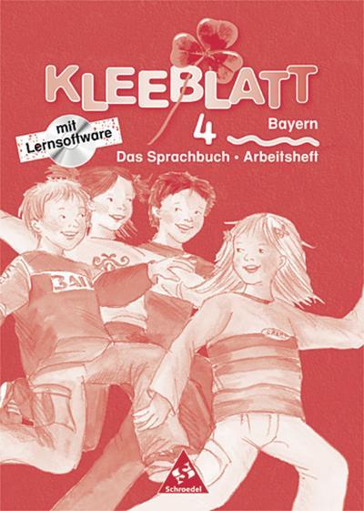 kleeblatt-das-sprachbuch-ausgabe-2001-bayern-arbeitsheft-4-mit-lernsoftware