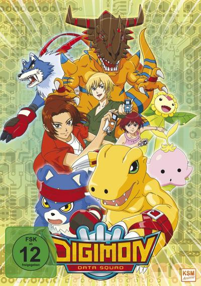 Digimon Data Squad - Volume 1: Episode 01-16 im Sammelschuber