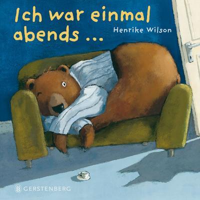 Ich war einmal abends     Deutsch  , durchgehend farbig -