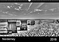 9783665615444 - Jürgen Bergenthal: Norderney (Wandkalender 2018 DIN A3 quer) - schwarz-weiße Nordsee-Impressionen (Monatskalender, 14 Seiten ) - كتاب
