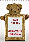 9783665615239 - Antje Lindert-Rottke + Martina Berg: Zaubärhafte Seelentröster (Tischkalender 2018 DIN A5 hoch) - Bärig was los .... Teddybären ganz privat (Monatskalender, 14 Seiten ) - کتاب
