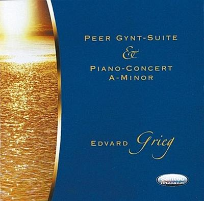 Peer Gynt-Suite & Piano Concert - Santec Music - Audio CD, Deutsch, , Gespielt vom Radio- & Fernsehorchester aus Moskau, Gespielt vom Radio- & Fernsehorchester aus Moskau