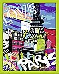 Cooles Paris. Malen nach Zahlen Serie C