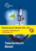 Tabellenbuch Metall XXL: Tabellenbuch, Formelsammlung und CD Tabellenbuch Metall 7.0