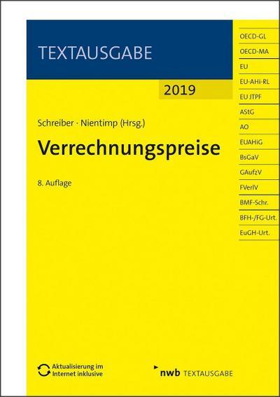 verrechnungspreise-textausgabe-, 16.57 EUR @ regalfrei-de