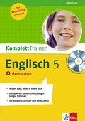 KomplettTrainer Englisch, 5. Schuljahr Gymnasium, m. Audio-CD