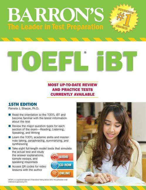 Barron-039-s-TOEFL-iBT-with-CD-ROM-and-MP3-Audio-CD-Pamela-J-Sharpe