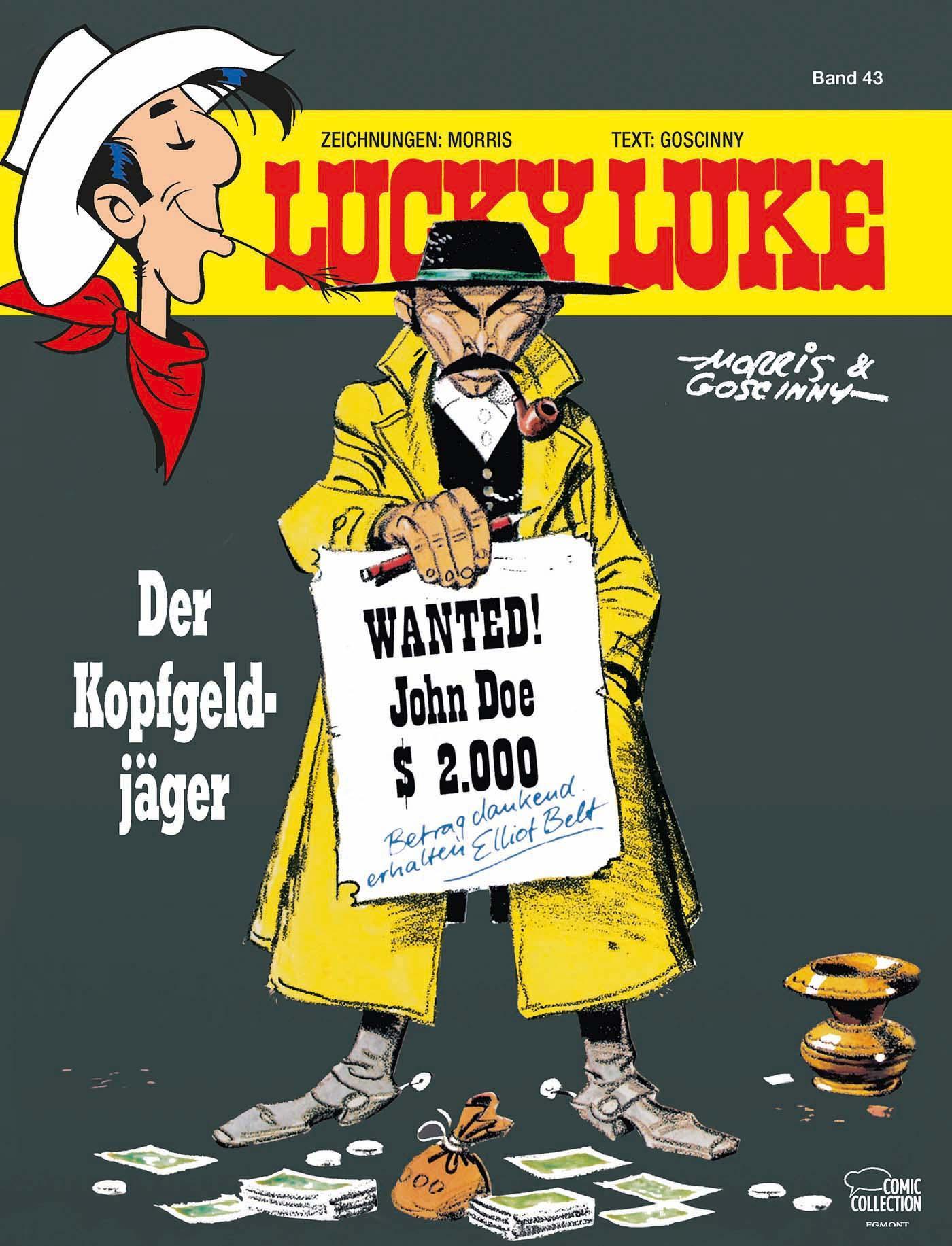 Morris-Lucky-Luke-43-Der-Kopfgeldjaeger9783770435869