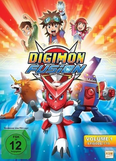 Digimon Fusion - Volume 1  Episode 01-15