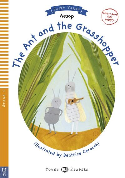 the-ant-and-the-grasshopper-buch-multi-rom-young-eli-readers-
