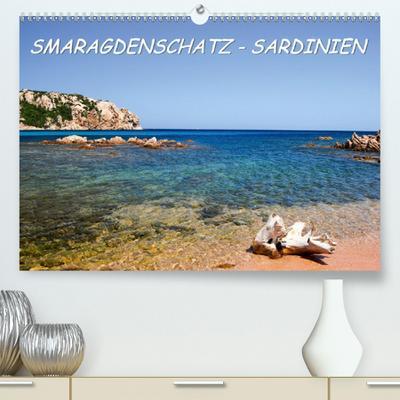SMARAGDENSCHATZ - SARDINIEN (Premium, hochwertiger DIN A2 Wandkalender 2020, Kunstdruck in Hochglanz): Fotoeindrücke aus den Buchten Nord-Ost Sardiniens (Monatskalender, 14 Seiten ) (CALVENDO Orte)