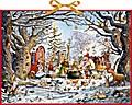 Weihnachten im Räuberwald. Adventskalender