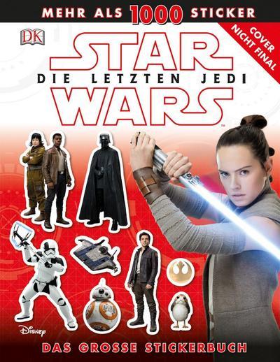 Star Wars™ Die letzten Jedi. Das große Stickerbuch  Deutsch  ACHTUNG! Für Kinder unter 3 Jahren nicht geeignet. Erstickungsgefahr durch verschluckbare Kleinteile.