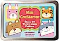 Boxset Mini Grußkarten -Über 60 Tiere zum Fal ...