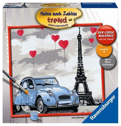 Ravensburger 28459 Paris - Ravensburger Spielverlag - Spielzeug, Französisch| Deutsch| Italienisch, , Ohne Rahmen!, Ohne Rahmen!