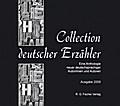 Collection Deutscher Erzähler. Eine Anthologie neuer deutschsprachiger Autorinnen und Autoren