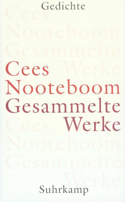 Gesammelte Werke in 9 Bänden: Gesammelte Werke in neun Bänden: Band 1: Gedichte