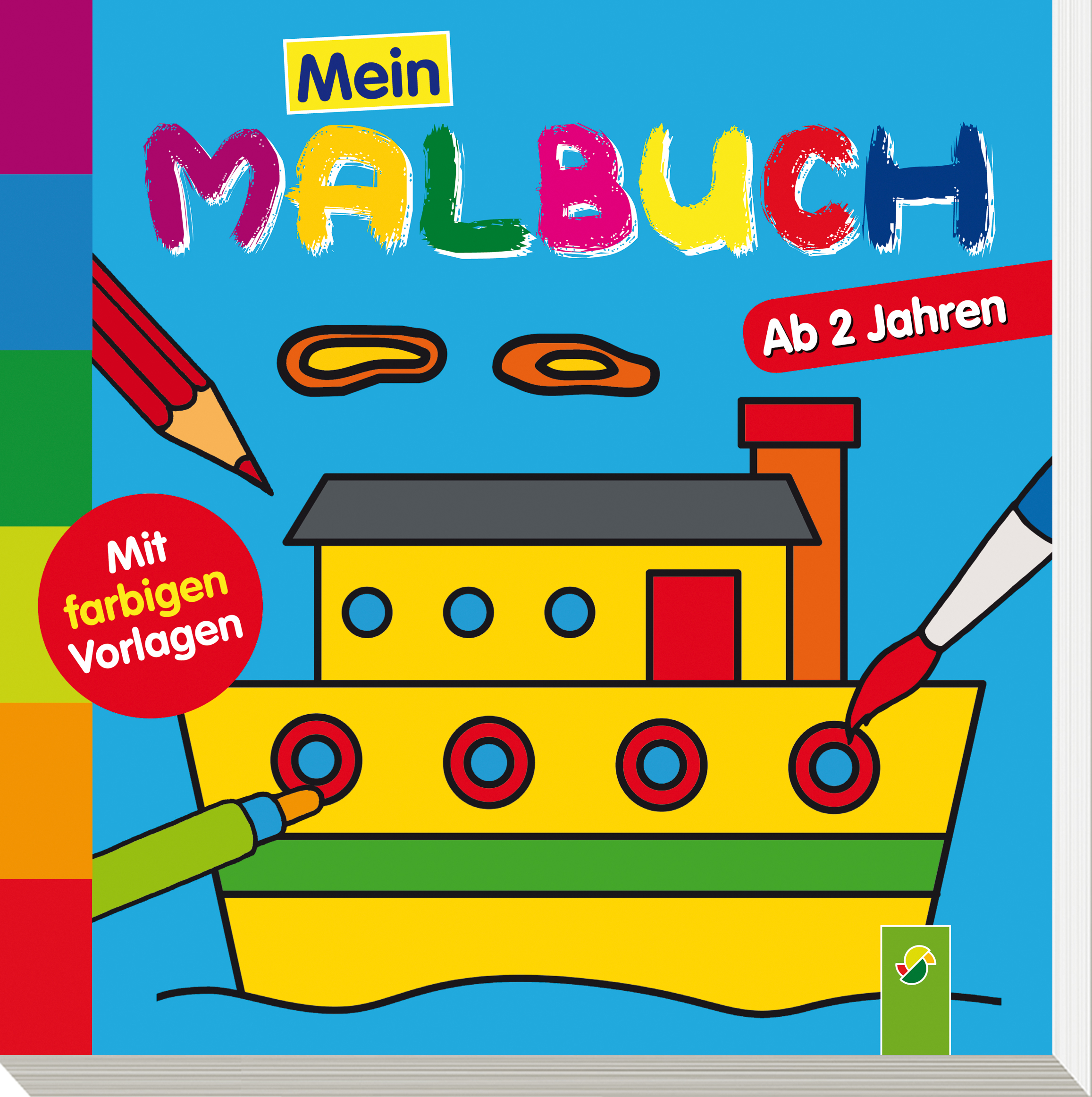 MEIN MALBUCH (SCHIFF) Christian Ortega 9783849904333 - EUR 3,99 ...