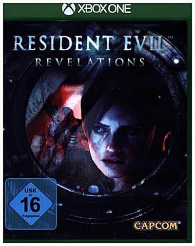 Resident Evil Revelations, 1 Xbox One-Blu-ray Disc