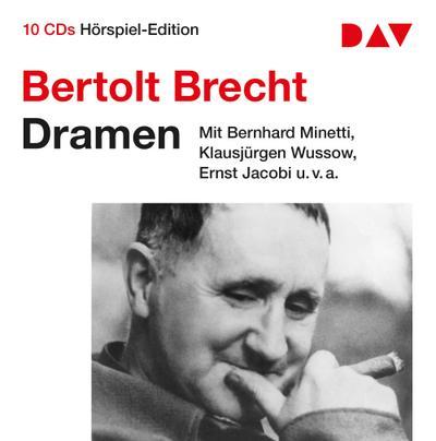 Dramen: Hörspiel-Edition mit Bernhard Minetti, Klausjürgen Wussow u.v.a. (10 CDs)