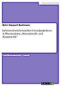 Lebensmittelchemisches Grundpraktikum A. Themenkreis Mineralstoffe und Zusatzstoffe