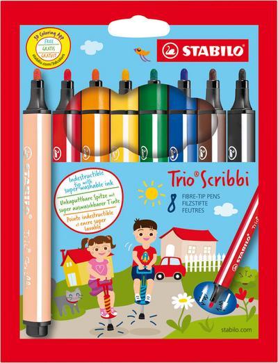 Faserschreiber STABILO Trio