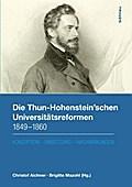 Die Thun-Hohenstein'schen Universitätsreformen 1849-1860