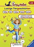 Lustige Tiergeschichten: Silbe für Silbe lese ...