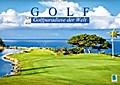 9783665894221 - CALVENDO: Golf: Golfparadiese der Welt (Wandkalender 2018 DIN A2 quer) - Wie gemalt: Golf- und Landschaftsarchitektur (Monatskalender, 14 Seiten ) - Book