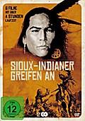 Sioux-Indianer greifen an