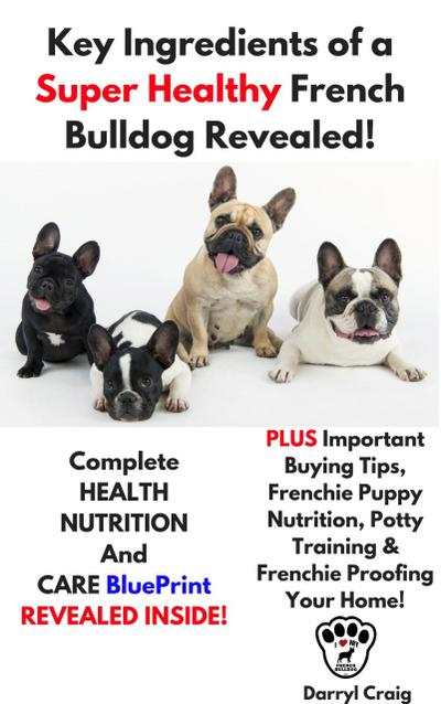 Key Ingredients of a Super Healthy French Bulldog Revealed