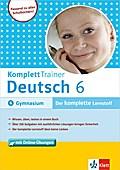 Komplett Trainer Deutsch 6, Gymnasium mit Online-Übungen